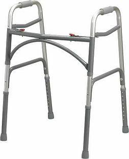 Drive Medical Heavy Duty Bariatric Aluminum Folding Walker