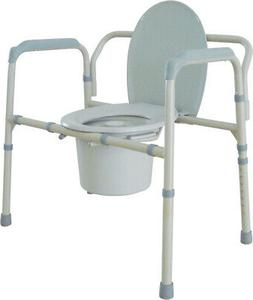 Drive Medical Heavy Duty Bariatric Folding Bedside Commode S