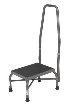 Drive Medical Heavy Duty Bariatric Footstool with Handrail a
