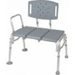Drive Medical Heavy Duty Bariatric Plastic Seat Transfer Ben