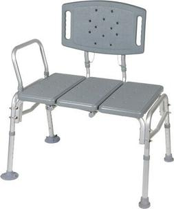 Drive Medical Heavy Duty Bariatric Plastic Seat Transfer Ben