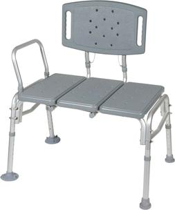 Heavy Duty Bariatric Seat Transfer Bench - Wet or Dry - Driv