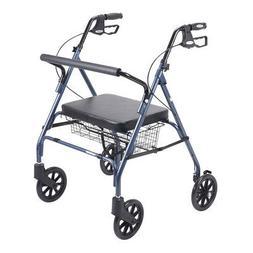 Drive Medical Heavy Duty Bariatric Walker Rollator
