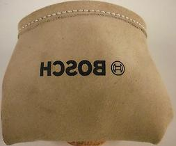 BOSCH  Heavy Duty Beige Suede Leather Nail & Small Tools Pou