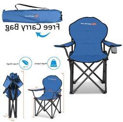 Heavy Duty Camping Chair Folding Beach Chairs Lightweight Po