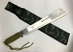Heavy Duty Cane/Brush Cutter Machete with sheath