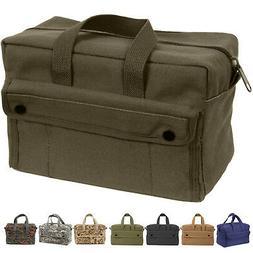 Heavy Duty Canvas Tool Bag Carry Tote Supplies Mechanics Wor