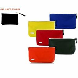 Heavy Duty Canvas Tool Pouches :: Set of 5 Large, Zippered T