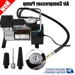 Heavy Duty 12V 100PSI Car Tyre Auto Tire Inflator Pump Air C