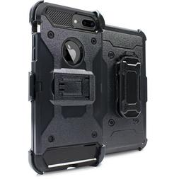 Heavy Duty Case Hybrid Cover with Kick Stand Holster Clip fo