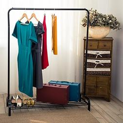 LANGRIA Clothing Garment Rack Heavy Duty Commercial Grade Cl