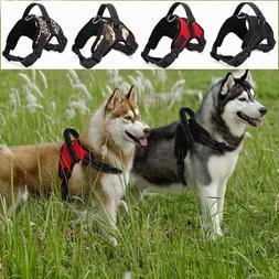 Heavy Duty Dog Pet Harness Collar K9 Padded Big Large Medium