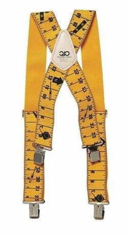 Heavy-Duty Elastic Suspenders, Ruler