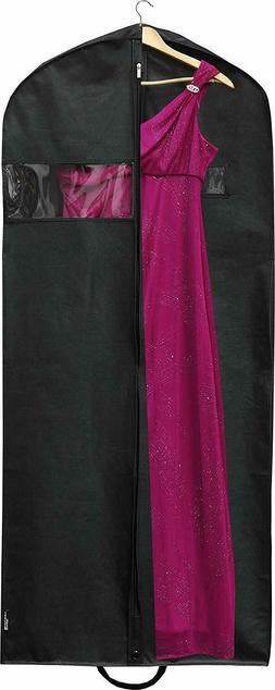 Heavy Duty Extra Long Suit Travel Garment Bag Long Dresse Tu