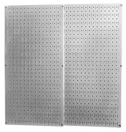 Wall Control Heavy Duty Galvanized Steel Pegboard For Kitche