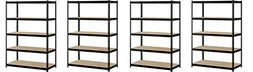EDSAL Heavy Duty Garage Shelf Steel Metal Storage 5 Level Ad