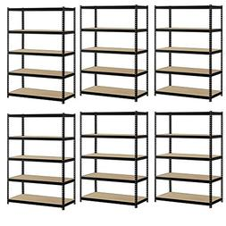 Heavy Duty Garage Shelf Steel Metal Storage 5 Level Adjustab