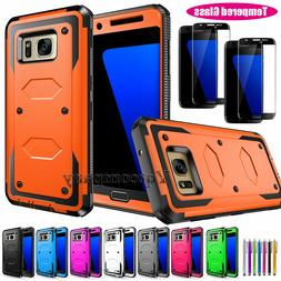 Heavy Duty Hybrid Impact Rugged Hard Case Cover For Samsung