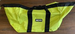 """RYOBI  Heavy Duty Large Wide Mouth Contractor Tool Bag 18"""" X"""