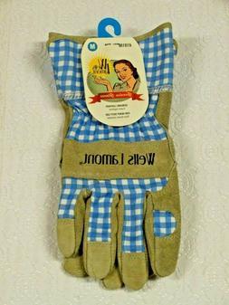 Wells Lamont Heavy Duty Leather Garden Gloves~Women's Medium