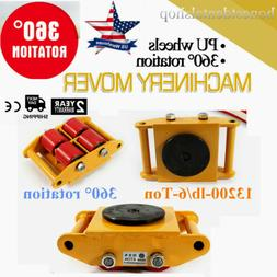Heavy Duty Machine Dolly Skate Machinery Roller Mover Cargo