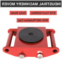 heavy duty machine dolly skate machinery roller