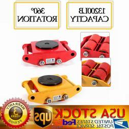 heavy duty machine dolly skate machinery roller