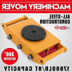 Heavy Duty Machine Dolly Skate Roller Machinery Mover 8T 176