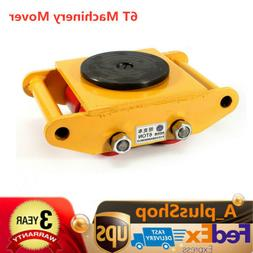 Heavy Duty Machine Dolly Skate Roller Machinery Mover 6T 132