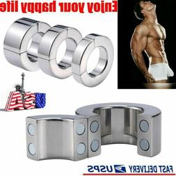 Heavy Duty Magnetic Stainless Steel Ball Stretcher Man Enhan