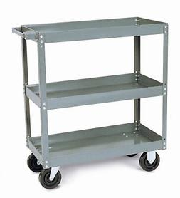 "Quantum Storage Heavy Duty Mobile Utility Cart 24"" x 36"" x 3"