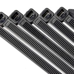 10 Inch Heavy Duty Nylon Cable Ties, 100 Pounds Tensile Stre