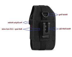 Krofel Heavy Duty Nylon Canvas Pouch Case Clip for Verizon L