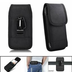Heavy Duty Nylon Vertical Pouch Case Holder Cover w/ Belt Cl
