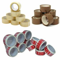 Heavy Duty Packing Tape - BROWN / CLEAR / FRAGILE 48mm x 66M
