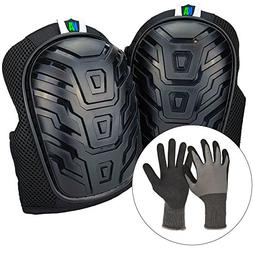 Knee Armor Professional Heavy Duty Knee Pads for Work with G