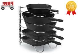 heavy duty pan rack pot holder 5
