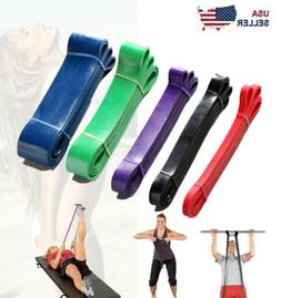Heavy Duty Resistance Bands Set 4 Loop for Gym Exercise Pull