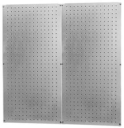 Heavy Duty Pegboard Round Hole Only Galvanized Steel Metal P