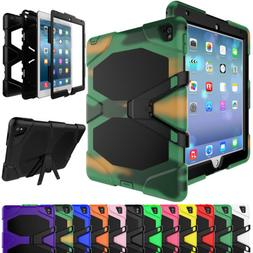 Heavy Duty Rubber Screen Protector Case Cover For iPad Air 1