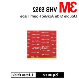 3M Heavy Duty Self Adhesive Stickers Sticky Pads Double Side