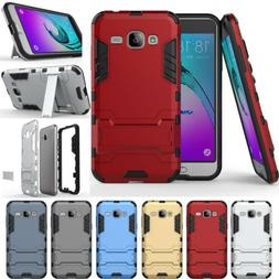 Heavy Duty Shockproof Phone Case Cover For Samsung Galaxy J1
