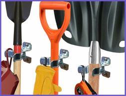 Heavy Duty Shovel Holder Wall Mount & Garden Tool Hangers Fo