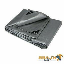 Heavy Duty Silver Tarp