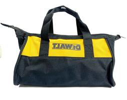 Dewalt Heavy Duty Small Double Handle Zippered Nylon Tool Ba