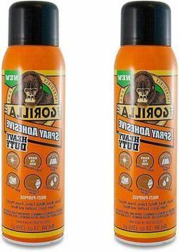 Gorilla Heavy Duty Spray Adhesive, Multipurpose and Repositi