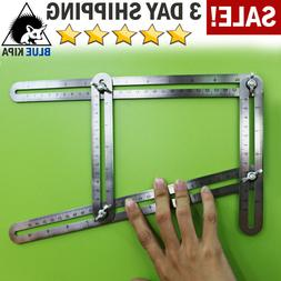 Heavy Duty Stainless Steel Angleizer Template Tool Multi Ang