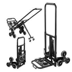 Heavy Duty Stair Climbing Folding Cart 330Lb Capacity Hand T