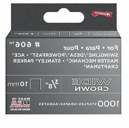 Arrow Fastener #60630 1000PK 3/8 Heavy Duty Staple