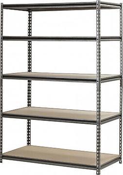 Heavy Duty Steel Rack Shelving Metal Storage Garage Tools 5